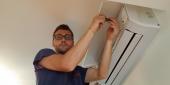 INSTALLAZIONE CLIMATIZZATORI BRESCIA ultimi collegamenti parte elettrica unità interna