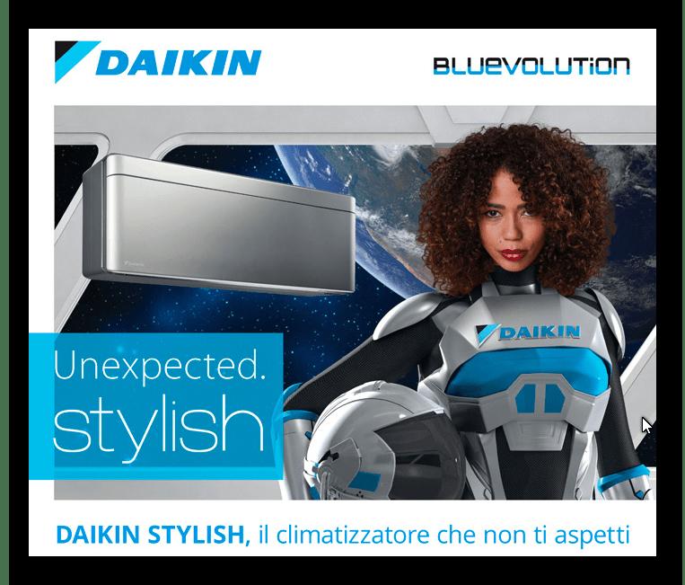 Daikin-Stylish-nuova gamma-climatizzatore residenziale